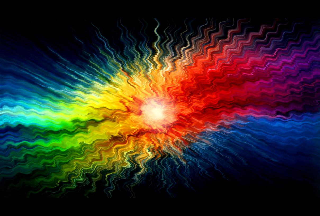 Liquid Color Screensaver