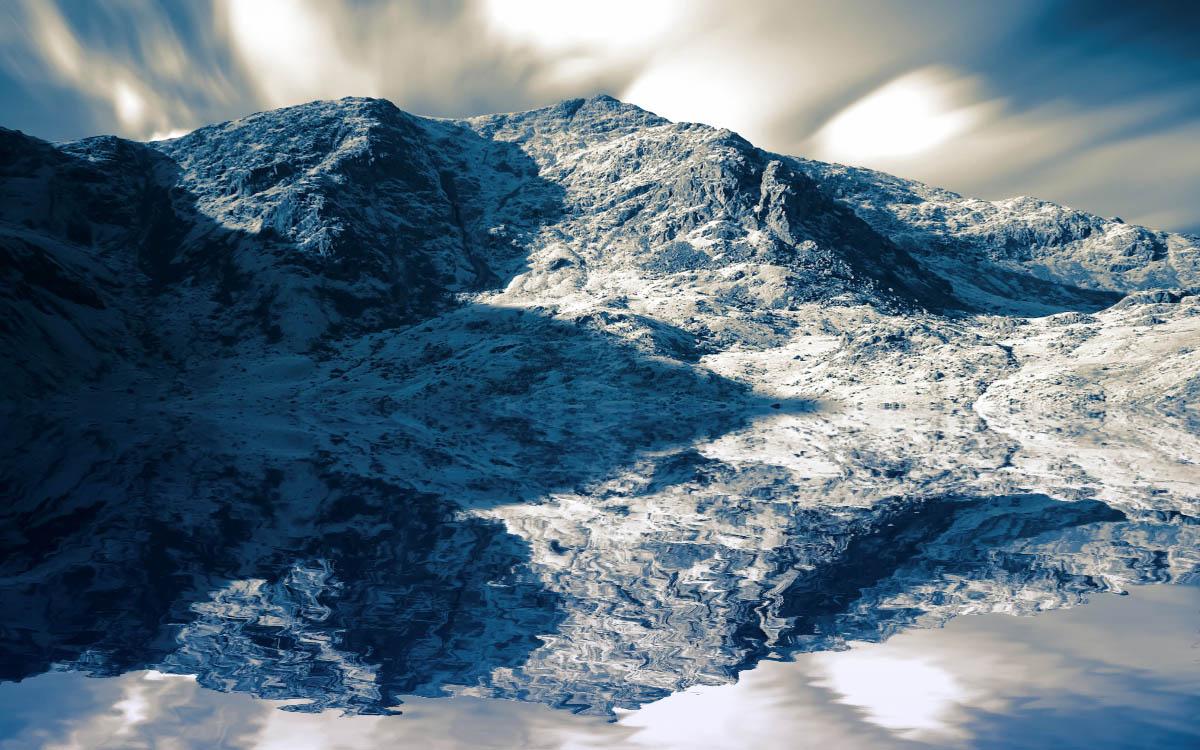 Mountain Water Screensaver