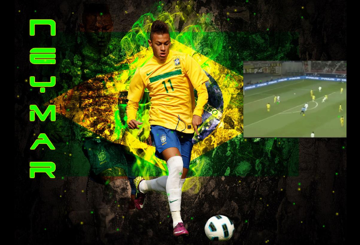 Neymar Screensaver