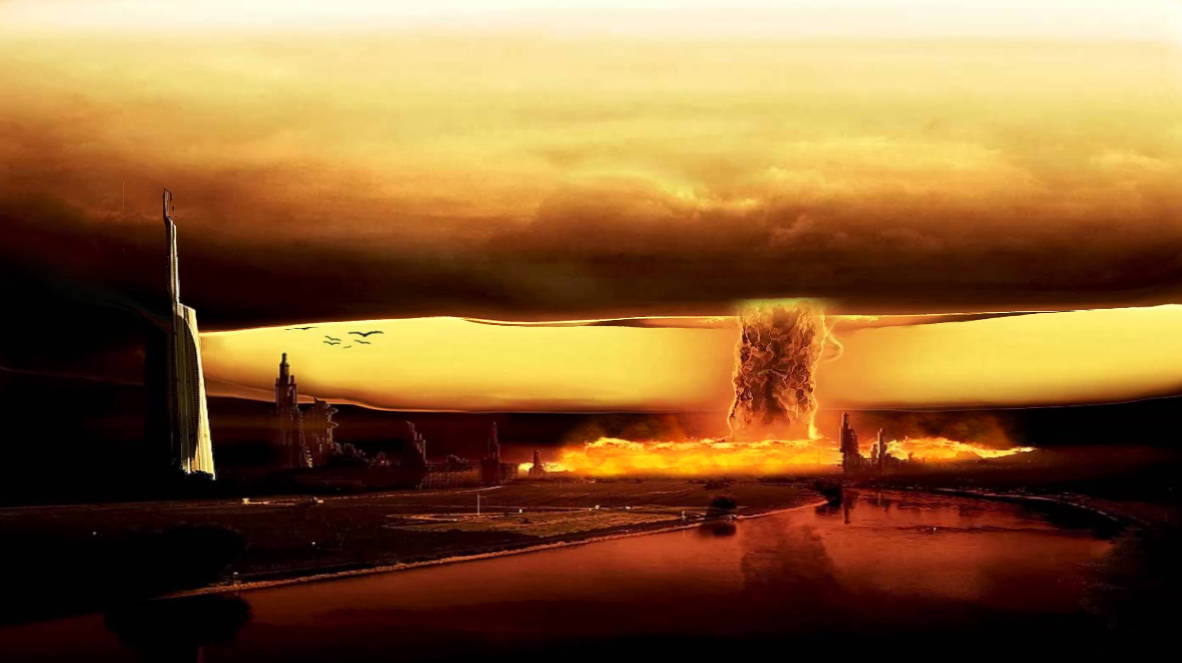 Nuclear Explosion Screensaver
