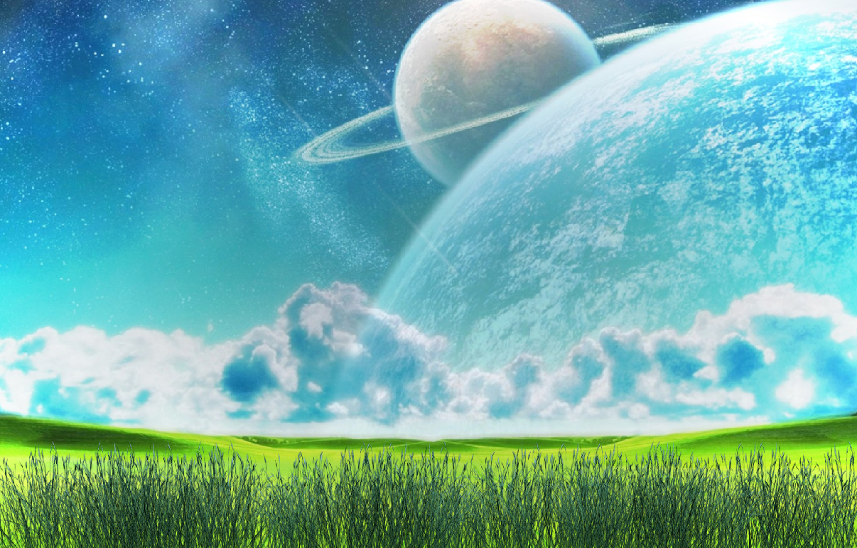 Space Fields Screensaver