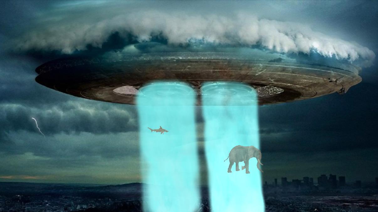 UFO Alien Screensaver