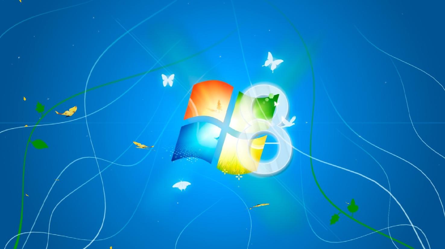 Windows 8 Light Animated Screensaver