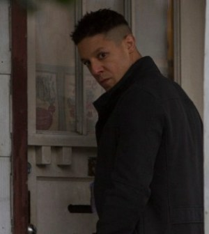 """Former inmate Sonny Burnett (guest star Theo Rossi) in the two-hour """"Ames Brothers/Sonny Burnett"""" Alcatraz Special."""