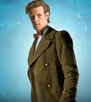 Matt Smith as the Doctor (Image © BBC)
