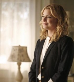 Emily Thorne (Emily Van Camp) assesses the damage in 'Scandal' Image © ABC Television Network
