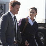 David Boreanaz and Emily Deschanel in Bones (Photo by Ray Mickshaw/ © 2012 FOX Broadcasting Co.)