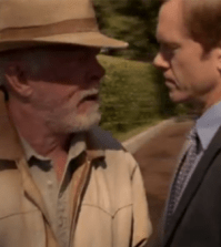 LUCK -- Nick Nolte as Walter Smith and Adam Harrington as Dennis Bowman. Image ©HBO