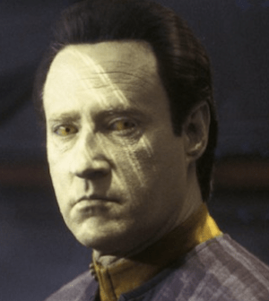 Brent Spiner as Data (Photo © Paramount Pictures)