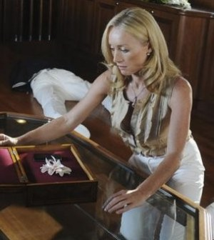Victoria Smurfit guests in Missing Episode 1.03 'Ice Queen' Image © ABC/RORY FLYNN
