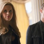 The Vampire Diaries: Claire Holt (Rebecca) and Joseph Morgan (Klaus) Photo © Bob Mahoney/The CW