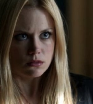 Claire Coffee as Adalind Schade in NBC's Grimm. Image courtesy and copyright NBC.