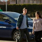 Dylan Minnette as Rex Britten, Daniela Bobadilla as Emma -- Photo by: Justin Lubin/NBC