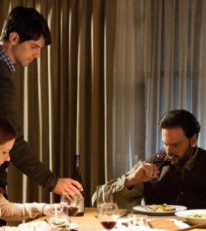 Bitsie Tulloch, David Giuntoli and Silas Weir Mitchell in Grimm. (Photo by: Scott Green/NBC)