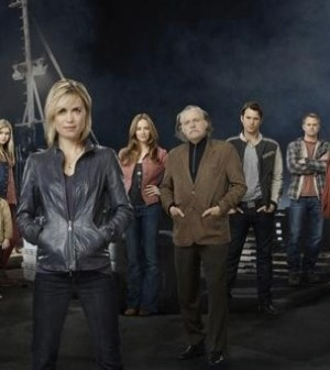 The cast of ABC's 'Red Widow' Image by Kharen Hill. © ABC Television Network.