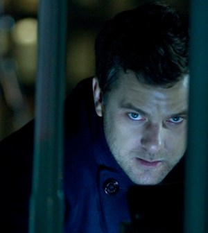 Joshua Jackson in FRINGE (Photo by Michael Courtney/ © 2012 Fox Broadcasting Co. )