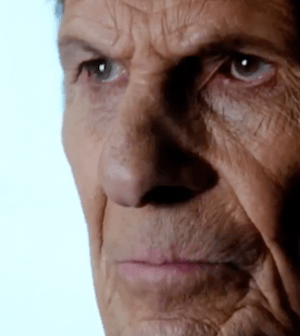 Leonard Nimoy as William Bell on FRINGE (Image © 2012 FOX Broadcasting Co.)