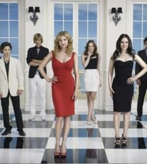 The cast of ABC's Revenge. Photo by Bob D'Amico. Image © ABC Television Network.