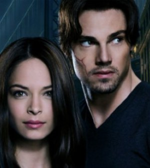Kristin Kreuk as Catherine, Jay Ryan as Vincent in the CW's 'Beauty and the Beast'
