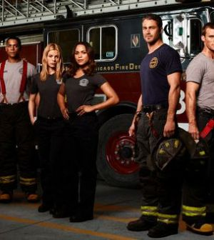The Cast of Chicago Fire. Photo by: Sandro/NBC. Image © NBCUniversal, Inc.