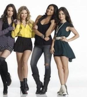 Troian Bellisario, Ashley Benson, Shay Mitchell & Lucy Hale (ABC FAMILY/MATHIEU YOUNG)