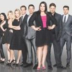 The Drop Dead Diva Cast. Image ©2012 A&E Television Networks