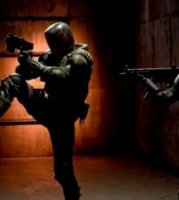 Karl Urban and Olivia Thirlby in Dredd. Image © Lionsgate. All rights reserved.