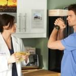 Erica Durance as Alex Reid, Daniel Gillies as Joel Goran -- (Photo by: Ken Woroner/NBC)