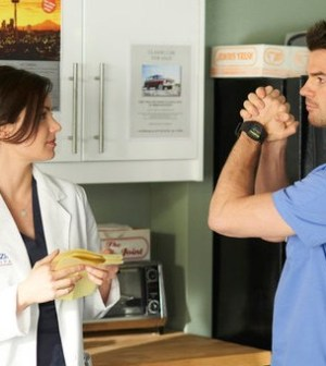 Erica Durance as Alex Reid, Daniel Gillies as Joel Goran -- (Photo by: Ken Woroner/NBC)