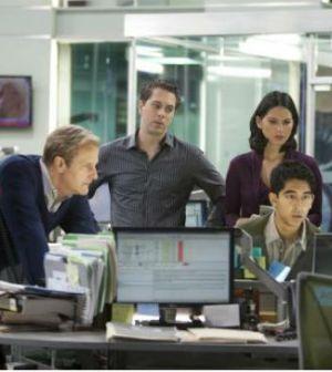 The Newsroom cast. Photo: Melissa Moseley © HBO