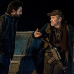 (l-r) Noah Wyle and Will Patton in Falling Skies. Photo by James Dittiger. Image © TNT