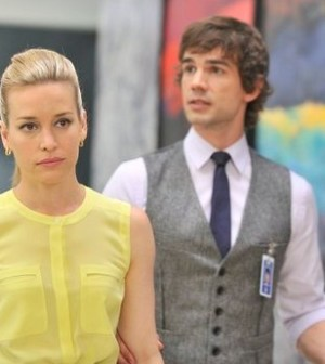 Piper Perabo and Christopher Gorham in Covert Affairs Photo by Ben Mark Holzberg/USA Network