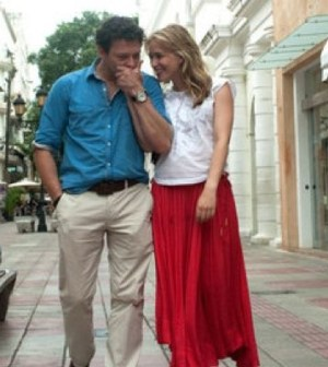 Richard Coyle and Piper Perabo in Covert Affairs. Image © USA