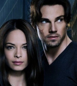 Kristen Kruek and Jay Ryan in the CW's Beauty & the Beast. Image © The CW Network