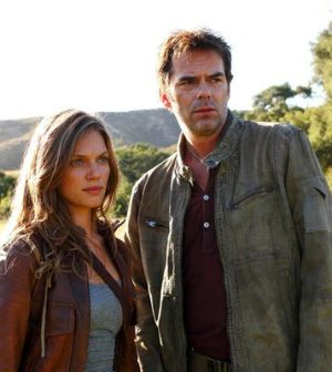 Tracy Spiridakos as Charlie Matheson, Billy Burke as Miles Matheson -- (Photo by: Trae Patton/NBC)