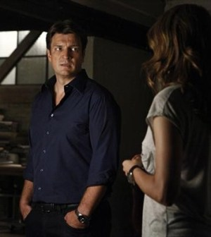 Nathan Fillion and Stana Katic in ABC's Castle