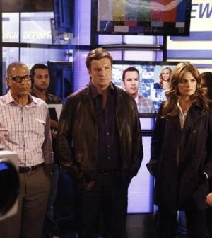 (ABC/VIVIAN ZINK) TYREES ALLEN, NATHAN FILLION, STANA KATIC