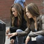 """Beauty And The Beast — """"All In"""" — Pictured (L-R): Nina Lisandrello as Tess and Kristin Kreuk as Catherine — Photo: Sven Frenzel/© 2012 The CW Network, LLC. All rights reserved."""