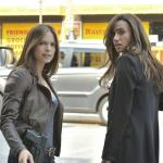 """Beauty And The Beast — """"All In"""" — Pictured (L-R): Kristin Kreuk as Catherine and Nina Lisandrello as Tess — Photo: Sven Frenzel/© 2012 The CW Network, LLC. All rights reserved."""