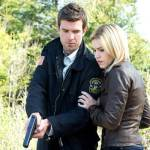Lucas Bryant as Nathan Wuornos, Emily Rose as Audrey Parker -- (Photo by: Michael Tompkins/Syfy)