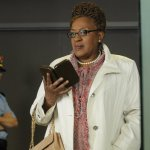 C.C.H. Pounder as Mrs. Irene Frederic -- (Photo By: Steve Wilkie/Syfy)