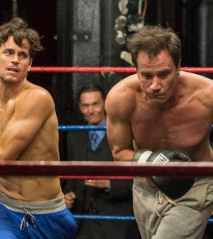 Matt Bomer and Tim DeKay in action in WHITE COLLAR 'Gloves Off' (Photo © USA)