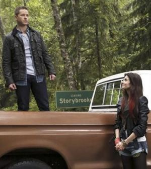 Josh Dallas and Meghan Ory in Once Upon a Time. Image © ABC.