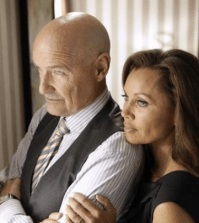 Terry O'Quinn and Vanessa Williams in 666 Park Avenue. Image: Patrick Harbron © ABC