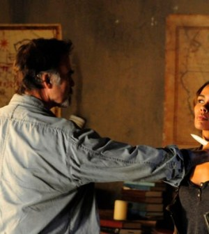 Jeff Fahey and Daniella Alonso in Revolution. Image © NBC