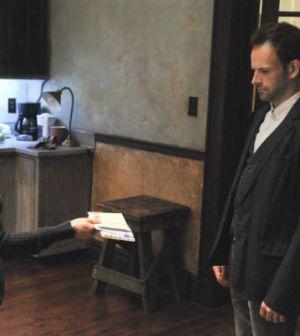 Lucy Liu as Joan Watson and Jonny Lee Miller as Sherlock Holmes in Elementary. Image: © CBS