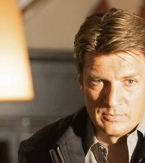 Nathan Fillion in Castle. Image © ABC Television Network