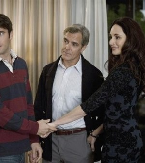(ABC/COLLEEN HAYES) JOSH BOWMAN, HENRY CZERNY AND MADELEINE STOWE