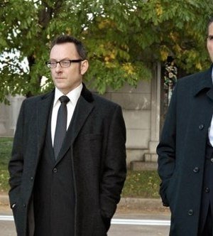 Michael Emerson and Jim Caviezel in Person of Interest. Image © CBS