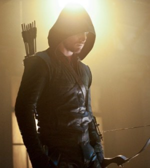 Stephen Amell as Arrow. Image © CW Network